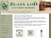 WEBOVÁ STRÁNKA ZLATÁ LOĎ s.r.o. Potřeby pro výtvarníky Praha 1