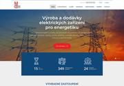 WEBOVÁ STRÁNKA MONTÁŽE ČAKOVICE s.r.o. elektrická zařízení