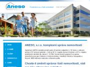 WEBOVÁ STRÁNKA ANESO s.r.o. Správa nemovitostí Praha 6