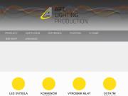 WEBOVÁ STRÁNKA Art Lighting Production, s.r.o.