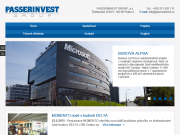 SITO WEB PASSERINVEST GROUP, a.s.