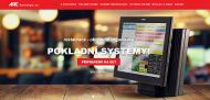 WEBOVÁ STRÁNKA ARC Technologie, a.s. Pokladní systémy Praha