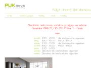 WEBOVÁ STRÁNKA PUK Servis s.r.o. Vstupní bytové bezpečnostní dveře Praha