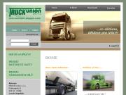 WEBOVÁ STRÁNKA TRUCK union spol. s.r.o. Prodej a servis nákladních automobilů