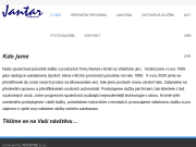 WEBOVÁ STRÁNKA JANTAR-lakovna, spol. s r.o.