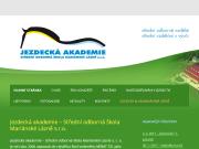 WEBOVÁ STRÁNKA JEZDECKÁ AKADEMIE - střední odborná škola Mariánské Lázně s.r.o.