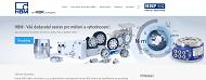 SITO WEB HBP merici technika s.r.o. Snimace, senzory a tenzometry Praha