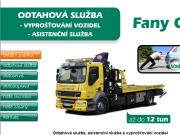 WEBOVÁ STRÁNKA FANY Cars, spol.s r.o.