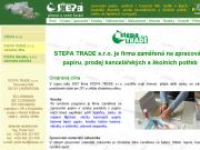 WEBOVÁ STRÁNKA Stepa Trade s.r.o.