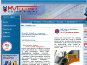 SITO WEB MV Technik, s.r.o.