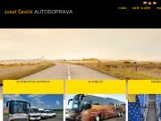 WEBOVÁ STRÁNKA Josef Ševčík - Autobusová doprava