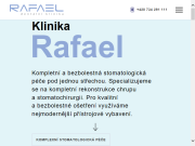 WEBOVÁ STRÁNKA Rafael dentální klinika s.r.o. MUDr. Rafael Chajrušev