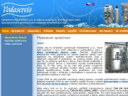 SITO WEB VODASERVIS s.r.o. Uprava pitnych vod