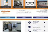 WEBOVÁ STRÁNKA LUBRIMEX, s. r. o. Oční optika, prodej brýlí Krnov