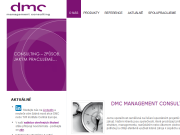 SITO WEB DMC management consulting s.r.o.
