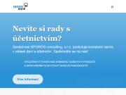 WEBOVÁ STRÁNKA SPOROS Consulting s.r.o. Zpracování daní Praha