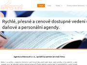 WEBOVÁ STRÁNKA Agentura Marcount, s.r.o. Účetní a daňová kancelář Praha