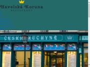 WEBOVÁ STRÁNKA HAVELSKÁ KORUNA, s.r.o. Restaurace Havelská Koruna