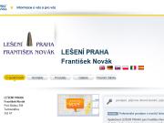 WEBOVÁ STRÁNKA LEŠENÍ PRAHA František Novák