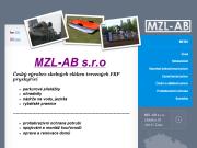 WEBOVÁ STRÁNKA MZL-AB s.r.o.