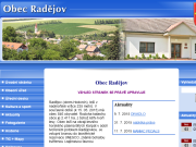 SITO WEB Obecni urad Radejov
