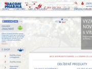 WEBOVÁ STRÁNKA DACOM Pharma s.r.o.