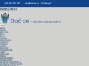 SITO WEB Mesto Dacice