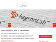 WEBSITE FAGRON a.s.