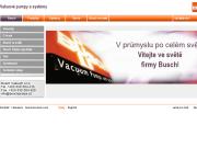 SITO WEB Busch Vakuum s.r.o.