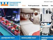 WEBOVÁ STRÁNKA Transportní technika Tůma s.r.o. Ing. Aleš Tůma