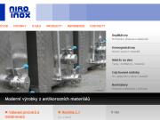 SITO WEB NIRO-INOX spol. s r.o.