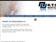WEBOVÁ STRÁNKA K.T.S. - MONTÁŽE, s.r.o.
