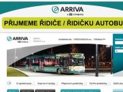 WEBOVÁ STRÁNKA ARRIVA MORAVA a.s. oblast Olomouc