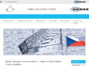 WEBOVÁ STRÁNKA Niedax-Kleinhuis s.r.o. Výroba elektroinstalačního materiálu