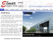 WEBOVÁ STRÁNKA ELMAR group, s.r.o.