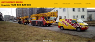 SITO WEB REKOS Olomouc spol. s.r.o. Autojeraby STEJSKAL-REKOS Olomouc