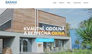 SITO WEB Baran - FMB, spol. s r.o. Ing. Karel Baran
