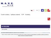 SITO WEB M.A.V.E. s.r.o.