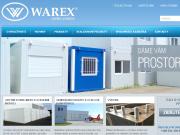 WEBOVÁ STRÁNKA WAREX spol. s r.o. Výroba obytných kontejnerů