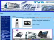 WEBOVÁ STRÁNKA TVR data a komunikace s.r.o. Integrované počítačové sítě Praha