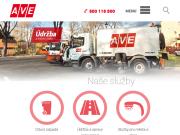 WEBOVÁ STRÁNKA AVE CZ odpadové hospodářství s.r.o. Komunální služby Praha