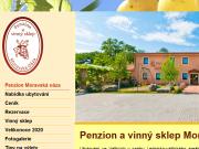 WEBOVÁ STRÁNKA Penzion a vinný sklep Moravská oáza