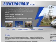 WEBOV� STR�NKA ELEKTROCABLE s.r.o.