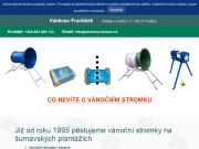 WEBOVÁ STRÁNKA Franti�ek Valdman-V�no�n� stromky a bal�c� s�t�