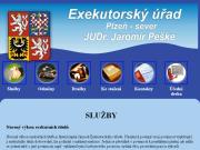 WEBOVÁ STRÁNKA Exekutorský úřad Plzeň - sever - Peške Jaromír, JUDr., soudní exekutor