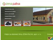 WEBOVÁ STRÁNKA ZENA-PALIVA, spol. s r.o.