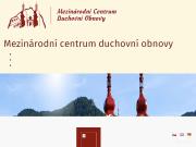 WEBOVÁ STRÁNKA Mezinárodní centrum duchovní obnovy