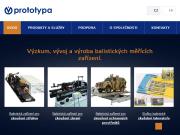 WEBOVÁ STRÁNKA Prototypa-ZM, s.r.o.