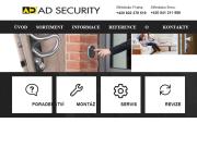 WEBOVÁ STRÁNKA AD SECURITY, s.r.o.