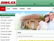WEBOVÁ STRÁNKA JUNG.CZ a.s. Výstavba rodinných domů